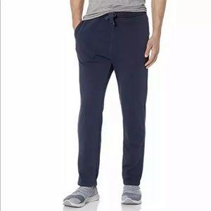 UGG Men's Navy Blue Wyatt Fleece Sweat Pants
